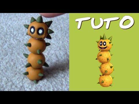 Tuto Fimo Pokey (de Mario) polymer clay tutorial