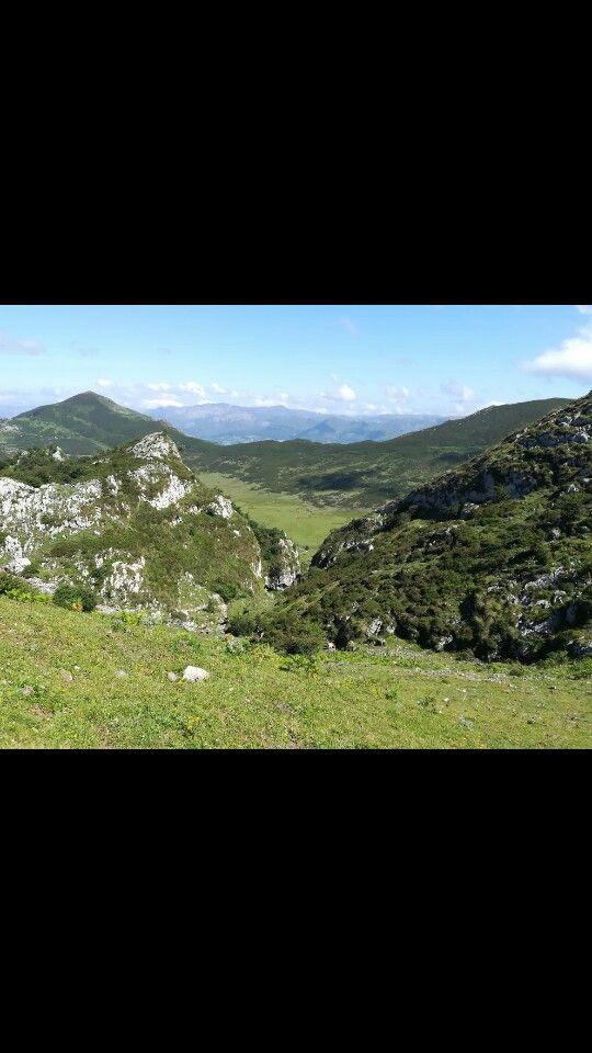 Vistas De La Ruta Para Ir A Los Lagos De Covadonga En 2020 Lagos De Covadonga Rutas Lagos