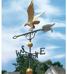 Golden Eagle Weathervane