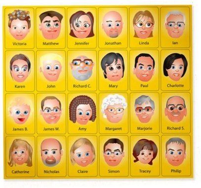 I want to create new Guess Who Characters for Marley! I found a site that has instructions to do it yourself.