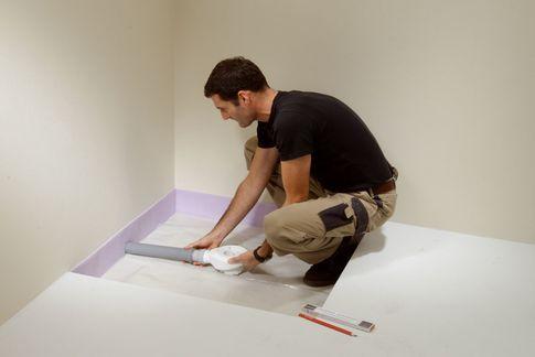 Matériaux isolants, Panneaux de construction, Polystyrène extrudé, XPS, Receveurs de douche - Receveurs de douche