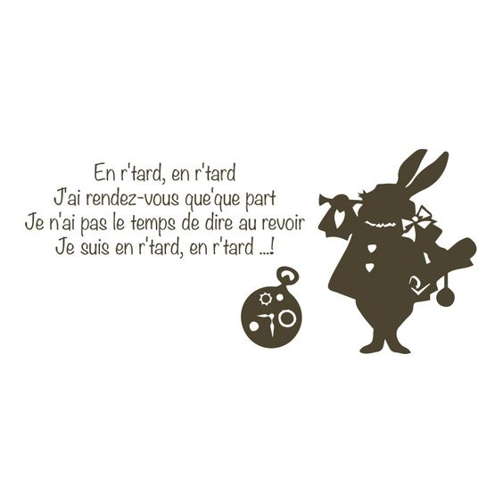 Le lapin d 39 alice au pays des merveilles lewis caroll petites phrases - Le lapin d alice au pays des merveilles ...