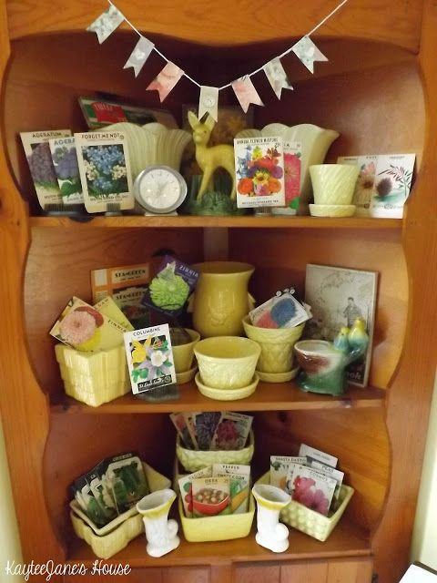 KayteeJanes House: Vintage Seed Packets