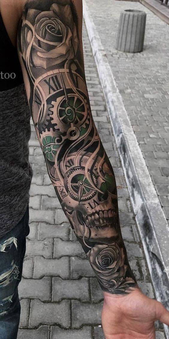 Arm And Wrist Covering Models 2019 Tattoos For Men 100 Best Men Tattoo Models Besttattoosform Realistic Tattoo Sleeve Best Sleeve Tattoos Cool Arm Tattoos