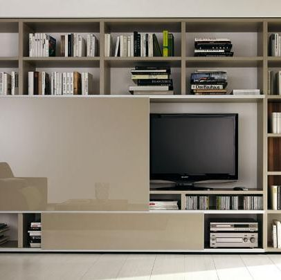 Tv Und Bibliotheksystem Mega Design Von Hulsta Bild 9 Wohnen Design Schoner Wohnen