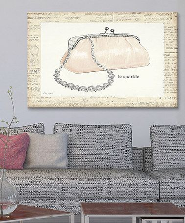 Look what I found on #zulily! From Emily's Closet II Gallery-Wrapped Canvas #zulilyfinds