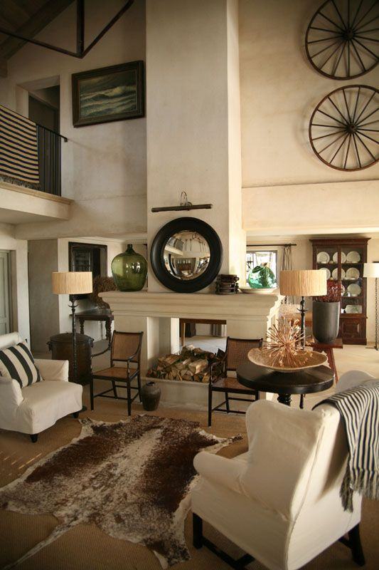 how to decorate a room with high ceilings fireplaces industrial and