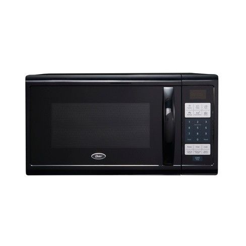 Oster 1 1 Cu Ft 1100w Digital Microwave Oven Black Ogzj1104 Digital Microwave Countertop Microwave Microwave Oven