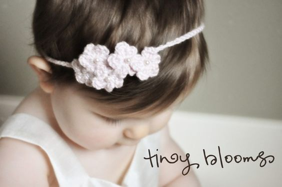 Spring Blooms Crochet Flower Headbands Patterns Baby to Adult - Buy 3 Patterns Get 1 FREE SALE! on Etsy, $4.54 CAD