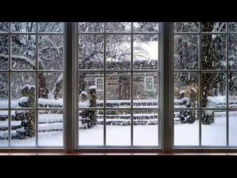 41+ Christmas snowy window scene inspirations