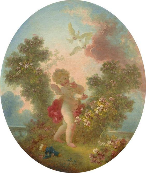 Jean-Honoré Fragonard - L'amour la sentinelle (1773)