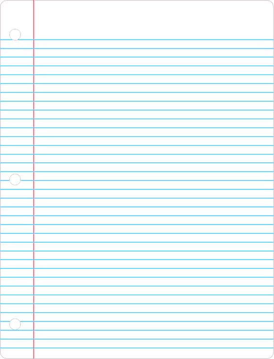 printable lined paper – Printable College Ruled Paper