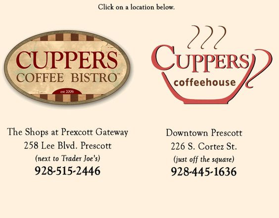 Cuppers Bistro and Cuppers Coffehouse - Prescott, Arizona | Bon ...