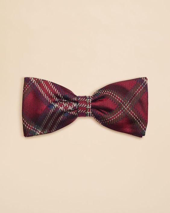 Brooks Brothers Boys' Tartan Bow Tie