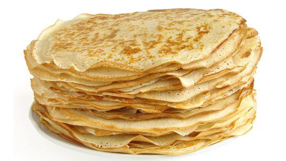Las crepas puede ser utilizadas como una base para muchos platillos. Comúnmente se utilizan para postres como: crepas con cajeta y crepas con chocolate o como platillo principal: crepas con queso y crepas con champiñones.