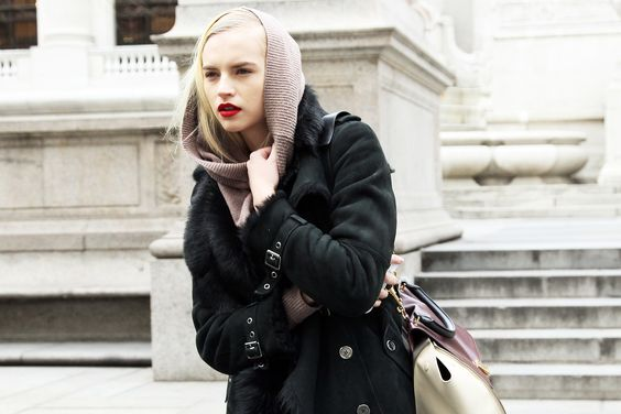 Reminds me of my first Denver winter 2012/red lipstick fling [Phil Oh]