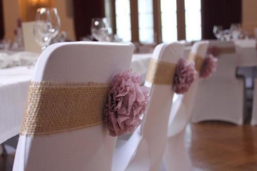 Bänder für Stuhlhussen aus Jute, Vintage, Hochzeit, 1,50 Euro in Dillenburg