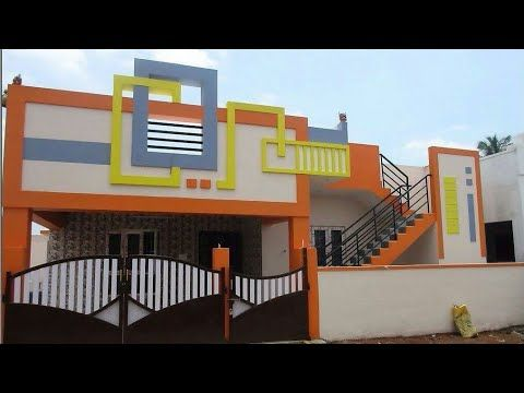 Ground Floor House For Sale 1400 Sq Ft Tamilnadu Youtube Small House Elevation Design Small House Front Design Village House Design