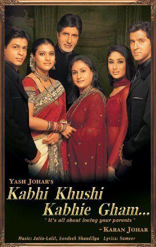 Kabhi Khushi Kabhie Gham - Shah Rukh Khan, Kajol, Amitabh Bachchan, Jaya Bachchan, Kareena Kapoor, Hrithik Roshan  #hindimovie: