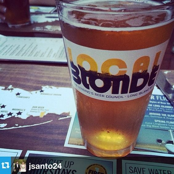 Could we ask for anything more? #drinklocal #drinkbeer #localblonde #tgif #happyhour #postofficecafe #babylonvillage