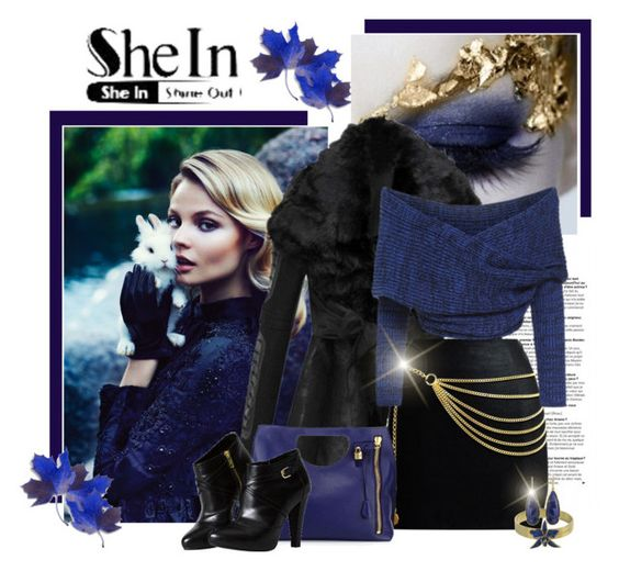 """""""Fashion in Blues"""" by signaturenails-dstanley ❤ liked on Polyvore featuring Tom Ford and Dsquared2"""