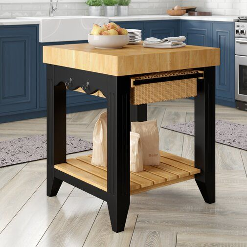 Behling Prep Table With Butcher Block Top In 2020 Butcher Block