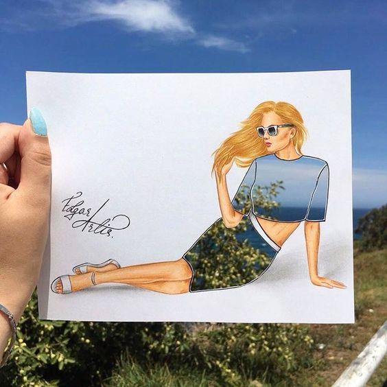 Desenho de @edgar_artis (instagram)