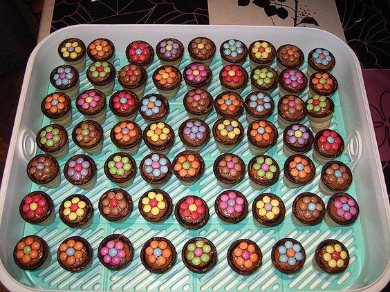kleine kuchen im waffelbecher rezept mit bild von minerva essen pinterest. Black Bedroom Furniture Sets. Home Design Ideas