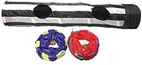 New Kitty Cat Fun Play Tunnel 4 Feet Long Pet Cats Toy * Visit the image link more details.
