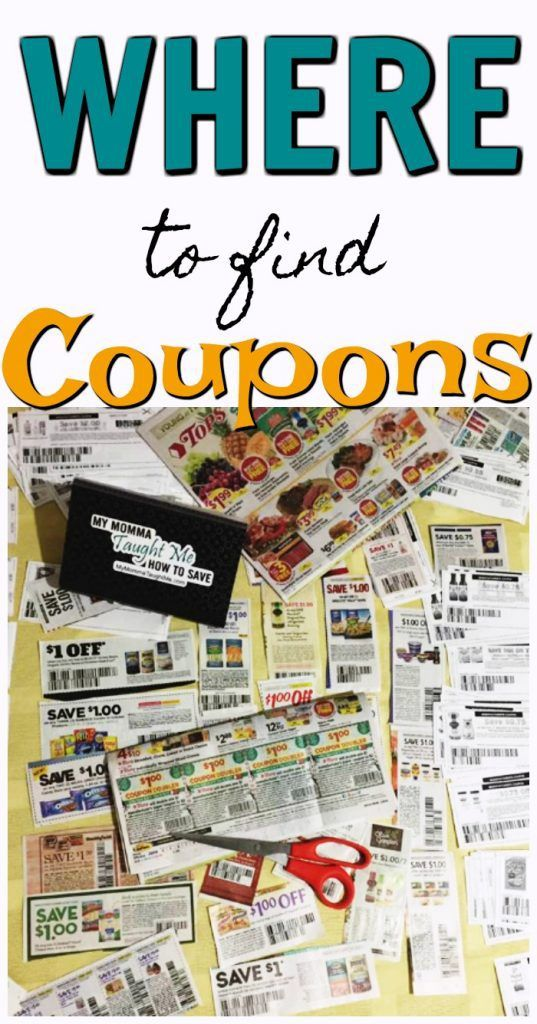 Where To Find Coupons Couponing For Beginners Find Coupons Coupons
