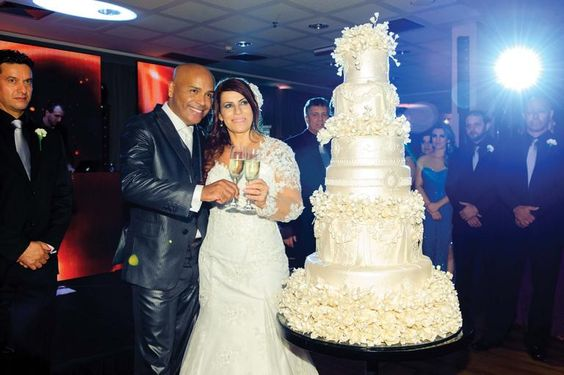 Rick e Geralda: amor eternizado em casamento