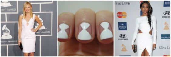 2012 Grammy Award inspired nails