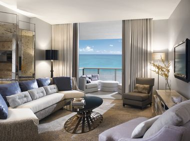 A spa, three pools, and butlers galore in Miami