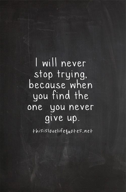 I Will Never Stop Trying Love Life Quotes Unconditional Love Quotes Love Quotes With Images