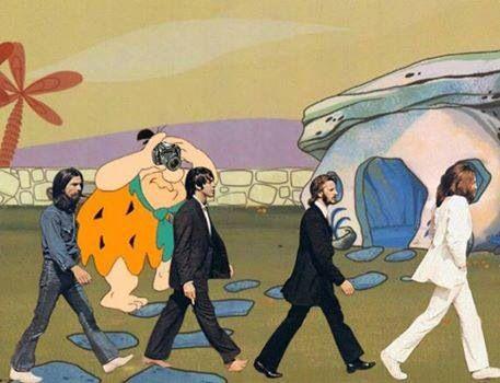 The Beatles, Abbey Road: The Flinstones