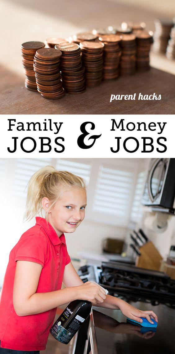 Chores vs allowance