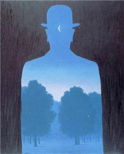 Rene Magritte ~ L'ami de l'ordre, 1964