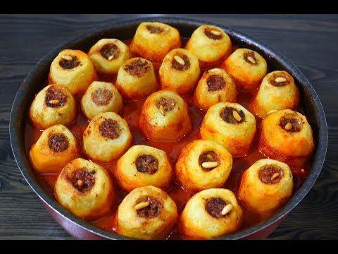 صينية البطاطس المحشية باللحمة المفرومة من اطيب الوصفات بشهر رمضان Youtube Food Breakfast Beef
