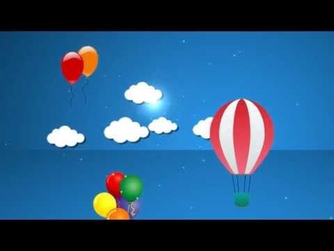 2d Sky Cartoon Background 2 Hd Loop Youtube Cartoon Background Cartoons Hd Background