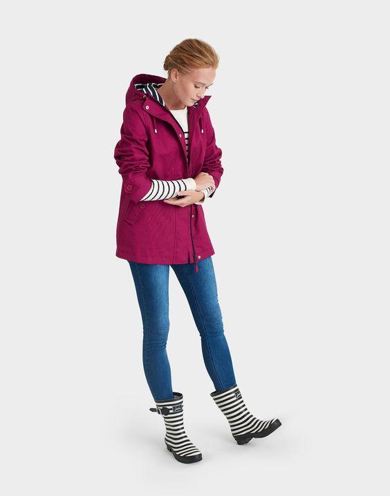 Coast Berry Waterproof Jacket   Joules US