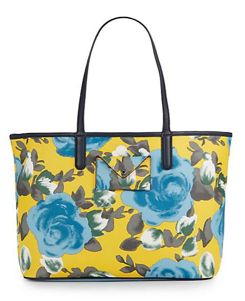 Marc By Marc Jacobs   Lea Floral Print Tote Bag   SAKS OFF