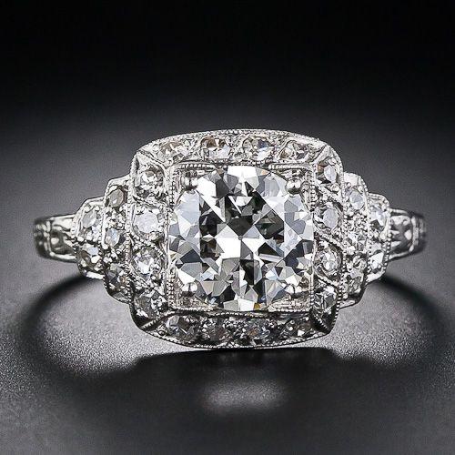 1930's Art Deco Diamond Ring