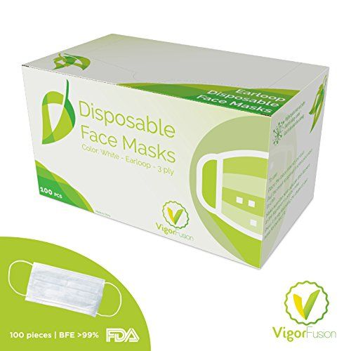 100 Pcs 1 Box Disposable Face Masks By Vigor Fusion 3 Https