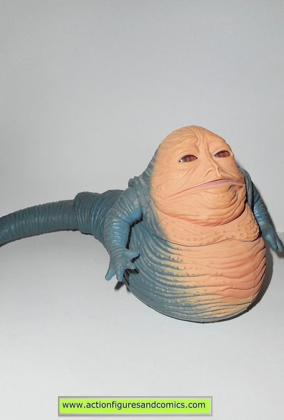 star wars action figures JABBA the HUTT 1998 power of the force toys kenner…