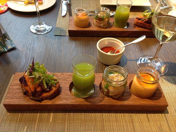 北野ホテルのお茶会ランチ前菜