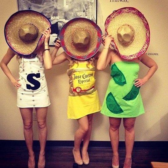 Gruppen Kostume Fur 3 Personen Einfach Selber Machen Halloween