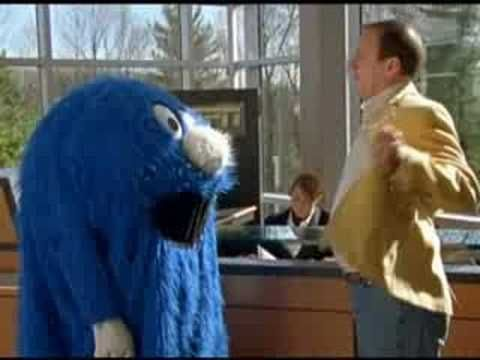 ESPN Commercial- The Blue Blob Victorious Once Again; Hall of Fame quarterback Jim Kelly thought he could best the Blue Blob...and oh how wrong he was. The Blue Blob defeated the former Bills' QB and reaped the benefits.