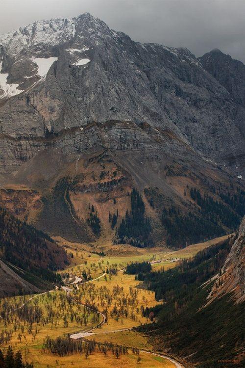 Ahornboden Austria Peter Schlechte Visit Austria Scenic Views