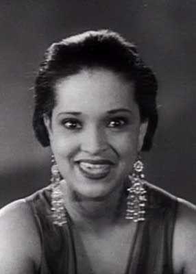 Nina Mae McKinney. Actress of the late 1920s-1950.: