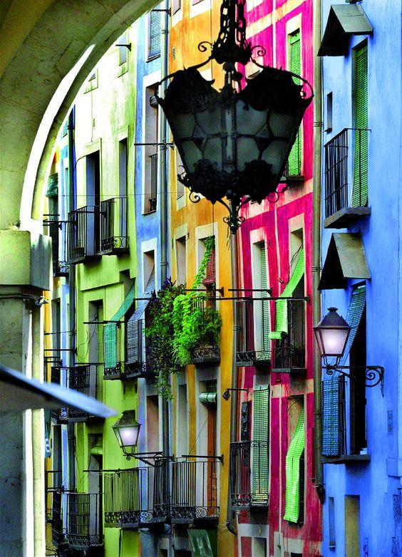 Calles de Cuenca, Spain: